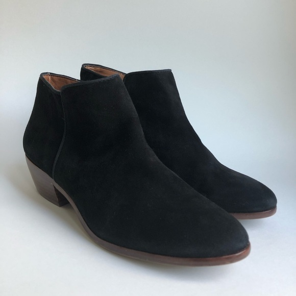 203287469 Sam Edelman Petty Ankle Booties Black Suede. M 5c47169a7386bc8bf55c59df